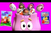CHRISTMAS Huevos Sorpresa Kinder Peppa Pig, My Little Pony, Monster High Disney Frozen SURPRISE EGGS