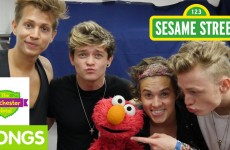 Furchester Hotel: The Vamps Teach Elmo Proper British