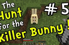 "Minecraft 1.8 – ""Chicken Jockey Joust!!"" (Part 5 of Hunt for the Killer Bunny)"