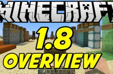 Minecraft 1.8 Overview! NEW BLOCKS! NEW MOBS! NEW FOOD! BANNERS! MORE!