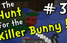 "Minecraft 1.8 – ""Slain by Lily Pad!"" (Part 3 of Hunt for the Killer Bunny)"