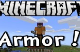 Minecraft 1.8 Tutorial – Crafting Armor – Episode 3 of Survive & Thrive Season 8