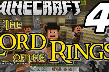 "Minecraft Lord of the Rings E04 ""Tavern Hopping in Hobbiton!"" (Silly Role-play Adventure)"