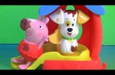 Peppa Pig & Bubble Puppy Bathtime Color Changing Toys from Bubble Guppies Nickelodeon Color Changers
