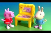 Peppa Pig Dance Ballet Recital with Surprise Table Rebecca Rabbit Nickelodeon by DCToysCollector