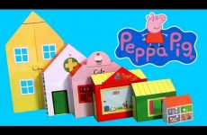 Peppa Pig World of Playsets 6 Sets in 1 Playset Nickelodeon – Maletín La Casa de juguetes 6-in-1