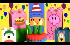 Play Doh Pocoyo Birthday Blocks From Mega Block Labo – Fiesta de Cumpleaños de Pocoyó PlayDough