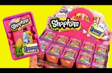 30 SHOPKINS Season2 NEW CASE 2015 Bolsitas Canastitas Sorpresa Season 2 Pink Box