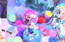 53 SURPRISE Frozen Ice Snow Eggs Queen Elsa Anna! Disney Elsa Choco Egg + Toy Story by HobbyKidsTV