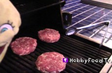 Barbecue FIRE! Grilled Cheeseburgers, Gourmet Sausages, SpongeBob, Planes Dusty, Mater HobbyFoodTV