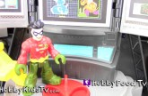 Batman Eats Bar-B-Que at Famous Daves Restaurant! Robin Tries to Fight Crime by HobbyFoodTV