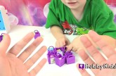 Box Open Shopkins Season 2 Packs! Surprise Blind Baskets + Toy Review with HobbyKids, HobbyMom