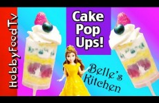 Cake Pop-Ups! No Bake: Belle's Kitchen, Princess Whipped Cream by HobbyFoodTV