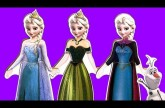 Disney Frozen Elsa Dress-Up Magnetic Wooden Fashion Wardrobe with Princess Anna Dress-Up Sisters