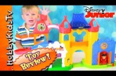 Disney Magic Castle Little People! Fisher Price Mickey Mouse Wobbles with HobbyBaby HobbyKidsTV