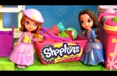 Disney Princess Sofia at the MiniMart Supermarket Unboxing Shopkins Season2 Baby Toys NEW 2015