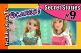 Elsa Hires Sleeping Beauty to Teach Anna Driving Lessons! Secret Stories PART 9 HobbyKidsTV