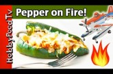 Fire Roasted Poblano Pepper + Stuffed Surprise Ingredient, Dusty Firefighter Disney HobbyFoodTV