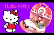 Hello Kitty Mini Kitchen Playset Play Doh Cuisine Cucina Kuche ハローキティ プレイ・ドー  PlayDough
