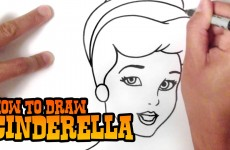How to Draw Cinderella – Step by Step Video