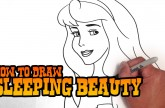 How to Draw Sleeping Beauty – Step by Step Video