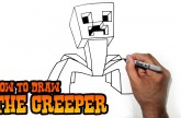 How to Draw the Creeper from Minecraft