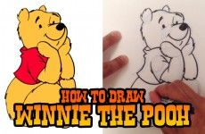 How to Draw Winnie the Pooh – Step by Step Video
