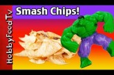 Hulk Makes Tortilla Chips! SuperHero Chips + Bloopers with HobbyMema and HobbyKid by HobbyFoodTV