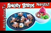 Marshmallow Birds Nests Recipe! Angry Birds Delicious Salty Sweet Home by HobbyFoodTV