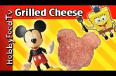 Mickey Mouse Grilled Cheese! Surprise SpongeBob Ingredient [Grillmaster] [Disney] by HobbyFoodTV
