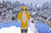 Minecraft Xbox – Disney Frozen Hunger Games