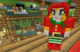 Minecraft Xbox – Festive World – Music Disc Hunt – Part 2