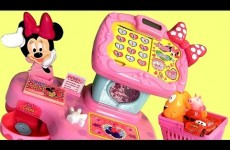 Minnie Mouse Electronic Cash Register TAKARATOMY TOMICA From Disney Minnie's BowTique Bow-Toons