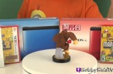 Nintendo 3ds XL amiibo Surprise Box Opening Smus Link Donkey Kong