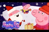 "Peppa Pig Christmas Chocolate Surprise with ""HO HO HO"" Magnet Nickelodeon Toys by DCToysCollector"