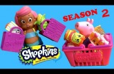 SHOPKINS Season 2 NEW 2015 with Bubble Guppies & Peppa Pig Canastitas y bolsitas Sorpresa