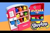 SHOPKINS SO COOL FRIDGE Playset Season2 Unboxing Refrigerator & Freezer NEW 2015 Season 2