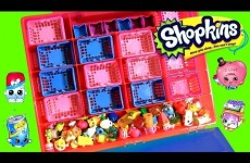 Shopkins Storage Case Season 2 Surprise Baskets Caja de Almacenamiento Bolsitas Canastitas Sorpresa