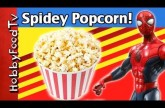 Stir Crazy Popcorn! Spiderman SuperHero Makes Popcorn with HobbyKids, HobbyMema by HobbyFoodTV