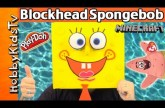 Super BIG Blockhead SPONGEBOB + Play-Doh Surprise Eggs! HobbyKidsTV