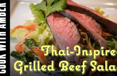Thai-Inspired Grilled Beef Salad | Cook With Amber