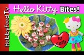 Tomato Bites w/Hello Kitty  Lo-Carb Stuffed Tomato Snack with HobbyKids, HobbyMema by HobbyFoodTV