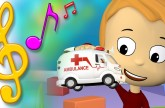 Ambulance Song with Lyrics | TuTiTu Toys Songs for Children