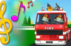 Fire Truck Song with Lyrics | TuTiTu Toys Songs for Children