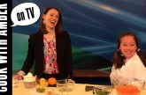 Food Revolution Day with Amber on Q13 FOX – Crunchy Carrot Pitas