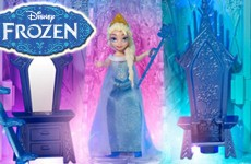 Frozen Elsa Magical Lights Palace with Olaf and Play Doh Light Up Castle Ice Palace Play Set