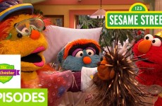 Furchester Hotel: Elmo Welcomes A Porcupine to the Furchester!