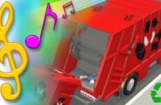 Garbage Truck Recycling Song with Lyrics | TuTiTu Toys Songs for Children