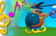 Helicopter Song with Lyrics | TuTiTu Toys Songs for Children