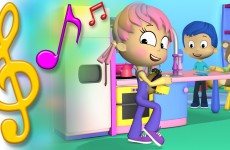 Kitchen Song with Lyrics | TuTiTu Toys Songs for Children